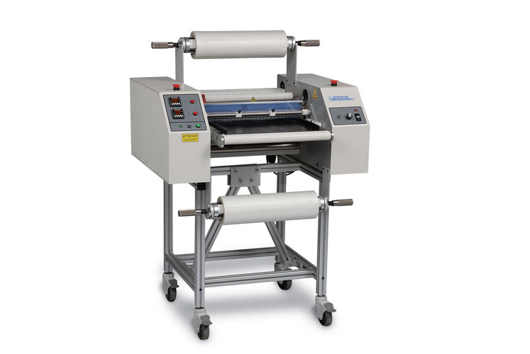 "Ledco 20"" Dual Hot Roll Industrial Laminator $9,856.82"